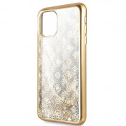 Guess Peony Liquid Glitter Case for iPhone 11 Pro Max (gold) 1
