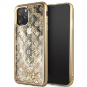 Guess Peony Liquid Glitter Case for iPhone 11 Pro Max (gold) 6