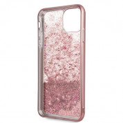 Guess Peony Liquid Glitter Case for iPhone 11 Pro Max (pink) 3