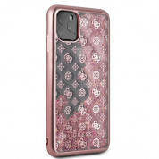 Guess Peony Liquid Glitter Case for iPhone 11 Pro Max (pink) 4