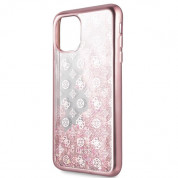 Guess Peony Liquid Glitter Case for iPhone 11 Pro Max (pink) 2