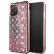 Guess Peony Liquid Glitter Case for iPhone 11 Pro Max (pink)