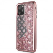 Guess Peony Liquid Glitter Case for iPhone 11 Pro Max (pink) 1