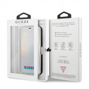 Guess Iridescent  Booktype Case for iPhone 11 Pro Max (silver) 5