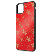 Guess Peony G Double Layer Glitter Case for iPhone 11 Pro Max (red) 2