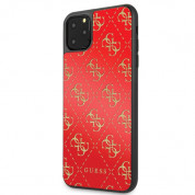 Guess Peony G Double Layer Glitter Case for iPhone 11 Pro Max (red) 1