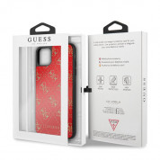 Guess Peony G Double Layer Glitter Case for iPhone 11 Pro Max (red) 6