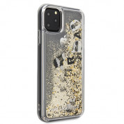 Karl Lagerfeld Glitter Floatting Charms Case for iPhone 11 Pro Max (gold) 4