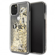 Karl Lagerfeld Glitter Floatting Charms Case for iPhone 11 Pro Max (gold)