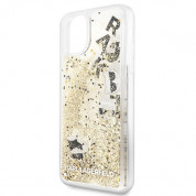 Karl Lagerfeld Glitter Floatting Charms Case for iPhone 11 Pro Max (gold) 2