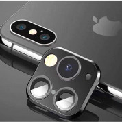 OEM Modified Camera Glass Lens - предпазни лещи за камерата на iPhone X, XS, XS Max с визия на iPhone 11 Pro, iPhone 11 Pro Max​ (черен) 1