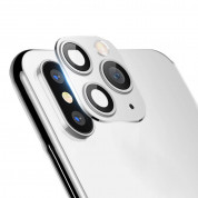 OEM Modified Camera Glass Lens for iPhone X, XS, XS Max to iPhone 11 Pro, iPhone 11 Pro Max (silver) 1