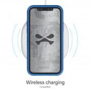 Ghostek Iron Armor 3 - удароустойчив хибриден кейс с щипка и слот за карти за iPhone 11 (син) 4