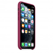 Apple Silicone Case for iPhone 11 Pro Max (pomegranate) 4