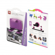 HR-imotion Quicky Air Pro Smartphone Holder Air Vent Moun (purple) 1