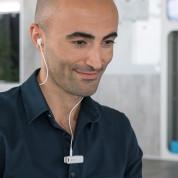 4smarts Wireless Mono-Headset TalkClip B1 - безжична слушалка с управление на звука и микрофон за мобилни устройства (бял) 4