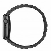Nomad Strap Stainless Steel Band - титаниева каишка за Apple Watch 42мм, 44мм (черен) 3