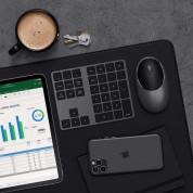 Satechi Aluminum Bluetooth Extended Keypad - безжична Bluetooth клавиатура за MacBook (тъмносив)  3