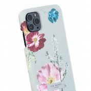 Ted Baker Forest Fruits Back Shell - дизайнерски поликарбонатов кейс за iPhone 11 Pro Max (сив) 2