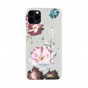 Ted Baker Forest Fruits Back Shell - дизайнерски поликарбонатов кейс за iPhone 11 Pro Max (сив) 1