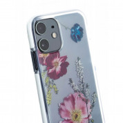 Ted Baker Forest Fruits Anti-Shock Clear Case - дизайнерски удароустойчив кейс за iPhone 11 (прозрачен) 2