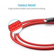 Anker Powerline+ Nylon Micro USB cable 180 cm (red) 4