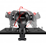 Baseus Osculum Type Gravity Car Mount (black) 3