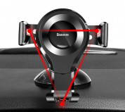 Baseus Osculum Type Gravity Car Mount (black) 9