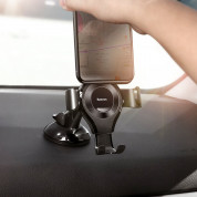 Baseus Osculum Type Gravity Car Mount (black) 6