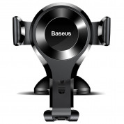 Baseus Osculum Type Gravity Car Mount (black) 1