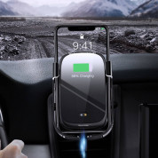 Baseus Rock Solid Wireless Charger Car Mount (black) 7