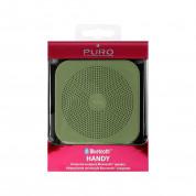 Puro Handy Bluetooth Speaker - безжичен блутут спийкър с микрофон за мобилни устройства (зелен) 2