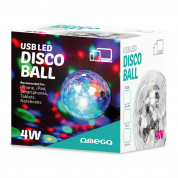 Omega Magic Disco Ball USB To Micro USB (white) 2
