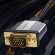Baseus Enjoyment Series VGA Male To VGA Male Cable - VGA към VGA кабел (300 см) (черен) 1