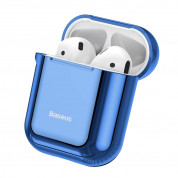 Baseus Shining Hook Silica Gel Case for Apple Airpods (blue)