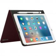 Incase Book Jacket Revolution Case - удароустойчив калъф, тип папка и поставка за iPad Pro 9.7 (червен) 3