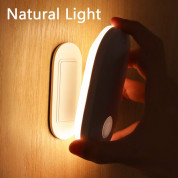 Baseus Sunshine Series Human Body Induction Entrance Light - нощна LED лампа (топла светлина) 6