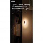 Baseus Sunshine Series Human Body Induction Entrance Light - нощна LED лампа (топла светлина) 7