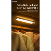 Baseus Sunshine Series Human Body Induction Wardrobe Light - нощна LED лампа (топла светлина) 8