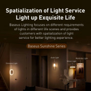 Baseus Sunshine Series Human Body Induction Wardrobe Light - нощна LED лампа (бяла светлина) 7