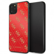 Guess Peony G Double Layer Glitter Case for iPhone 11 Pro (red)
