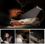 TechRise HBI05551 Clip-On LED Book Reading Light (black) 6