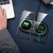 Baseus Simple 2in1 Wireless Charger (black) 4