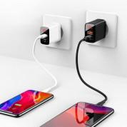 Baseus Mirror Lake Dual USB QC 3.0 Wall Charger 18W CCJMHC-A01 (black) 6