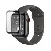 Torrii BodyFrame - защитно покритие с извити ръбове за дисплея на Apple Watch Series 5/4 (40mm) (черен-прозрачен) 1