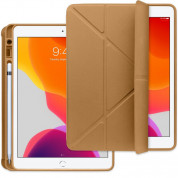 Torrii Torrio Plus Case and stand for iPad 7 (2019), iPad 8 (2020) (brown)