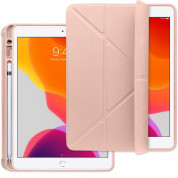 Torrii Torrio Plus Case and stand for iPad 7 (2019), iPad 8 (2020) (pink)