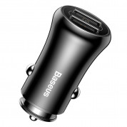 Baseus Gentry Series Car Charger CCALL-GB01 (black) 1