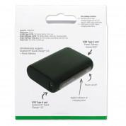 4smarts Power Bank VoltHub 10000 mAh PD and QC 3.0 - външна батерия с два USB и USB-C изходи и технология за бързо зареждане (тъмнозелен) 6