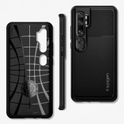 Spigen Rugged Armor Case for Xiaomi Mi Note 10, Note 10 Pro (matte black) 3